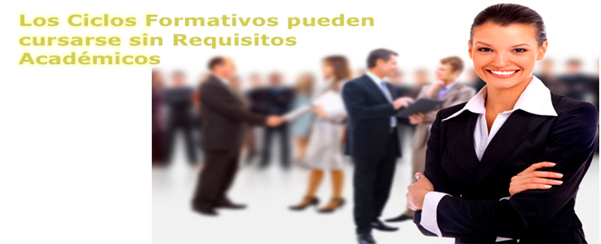 Accede sin requisitos académicos